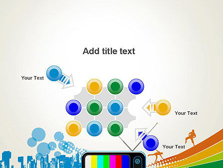 Online TV Concept PowerPoint Template Slide 10
