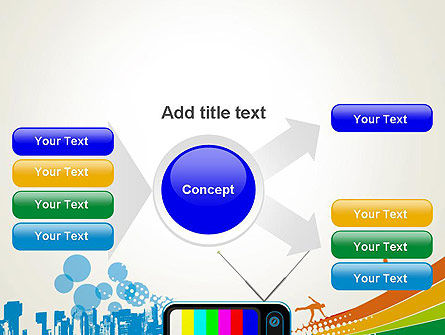 Online TV Concept PowerPoint Template Slide 15