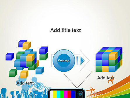 Online TV Concept PowerPoint Template Slide 17