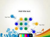 Online TV Concept PowerPoint Template#10