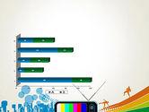 Online TV Concept PowerPoint Template#11