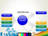 Online TV Concept PowerPoint Template#15