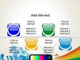 Online TV Concept PowerPoint Template#18