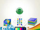 Online TV Concept PowerPoint Template#19