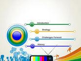 Online TV Concept PowerPoint Template#3