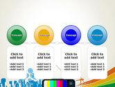 Online TV Concept PowerPoint Template#5