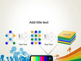 Online TV Concept PowerPoint Template#9