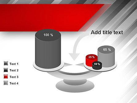 Stylized Steel Background PowerPoint Template Slide 10