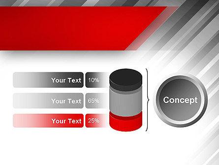 Stylized Steel Background PowerPoint Template Slide 11