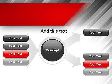 Stylized Steel Background PowerPoint Template Slide 14