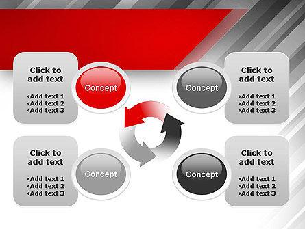 Stylized Steel Background PowerPoint Template Slide 9