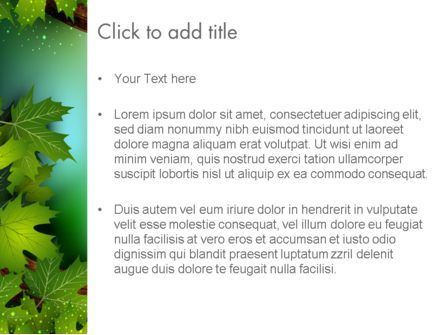 Forest Tale PowerPoint Template, Slide 3, 12523, Education & Training — PoweredTemplate.com
