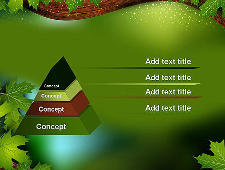 Forest Tale PowerPoint Template Slide 12