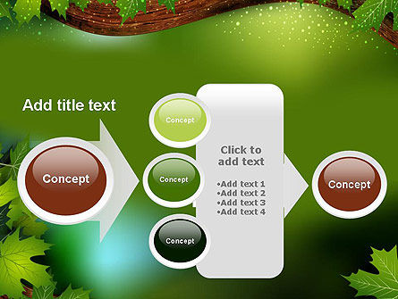 Forest Tale PowerPoint Template Slide 17