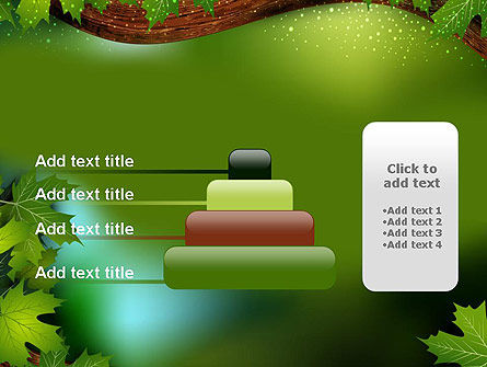 Forest Tale PowerPoint Template Slide 8