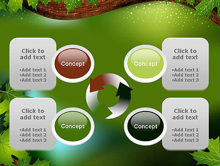 Forest Tale PowerPoint Template Slide 9