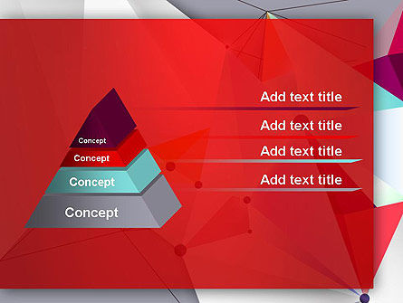Abstract Polygonal Background PowerPoint Template Slide 12