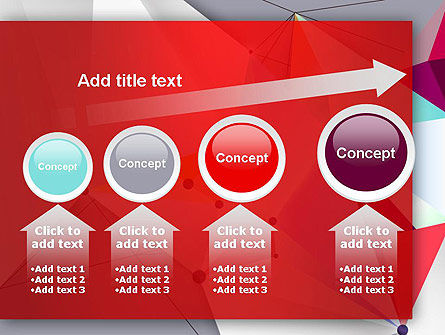 Abstract Polygonal Background PowerPoint Template Slide 13