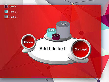 Abstract Polygonal Background PowerPoint Template Slide 16