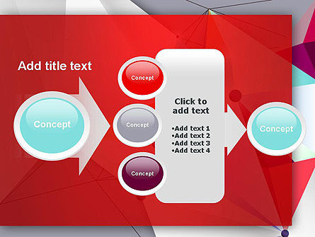 Abstract Polygonal Background PowerPoint Template Slide 17