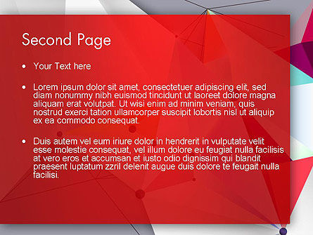 Abstract Polygonal Background PowerPoint Template Slide 2