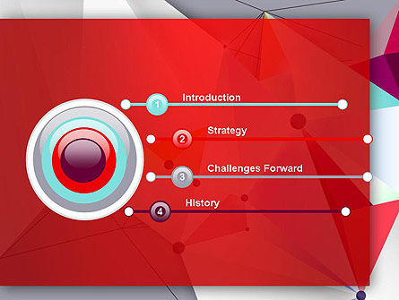 Abstract Polygonal Background PowerPoint Template Slide 3