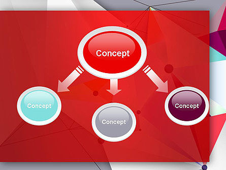 Abstract Polygonal Background PowerPoint Template Slide 4