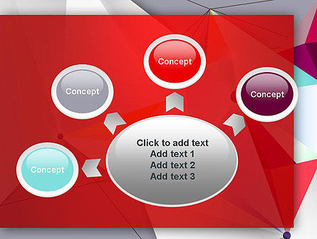 Abstract Polygonal Background PowerPoint Template Slide 7