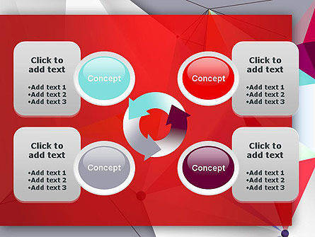 Abstract Polygonal Background PowerPoint Template Slide 9