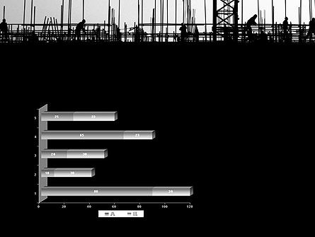 Construction Workers Silhouettes PowerPoint Template Slide 11