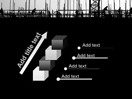 Construction Workers Silhouettes PowerPoint Template Slide 14