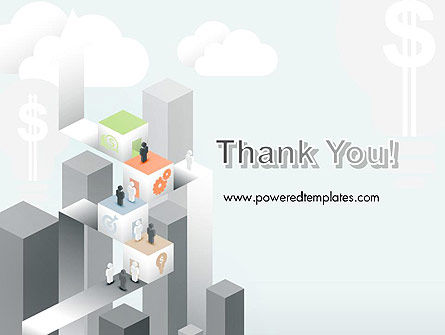 Building Business Blocks PowerPoint Template Slide 20