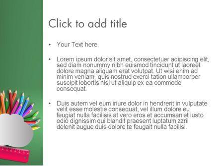 Class Notes PowerPoint Template, Slide 3, 12529, Education & Training — PoweredTemplate.com