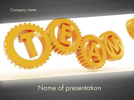 Excellent Team PowerPoint Template