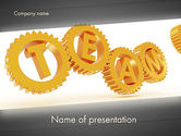 Careers/Industry: Excellent Team PowerPoint Template #12532
