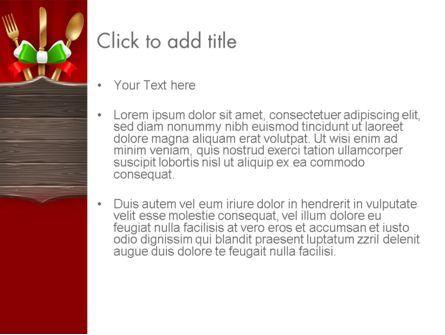 Italian Restaurant PowerPoint Template, Slide 3, 12533, Careers/Industry — PoweredTemplate.com