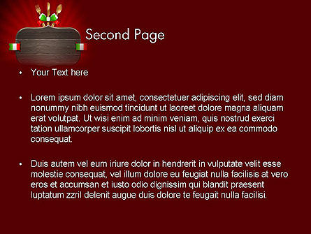Italian Restaurant PowerPoint Template Slide 2