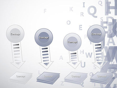 Transparent Letters PowerPoint Template Slide 8