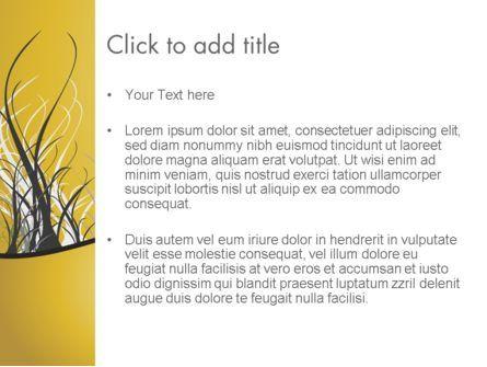 Abstract Tree Branch PowerPoint Template, Slide 3, 12538, Nature & Environment — PoweredTemplate.com