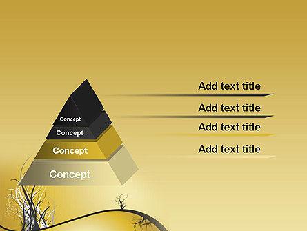Abstract Tree Branch PowerPoint Template, Slide 4, 12538, Nature & Environment — PoweredTemplate.com
