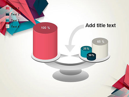Abstract Origami PowerPoint Template Slide 10
