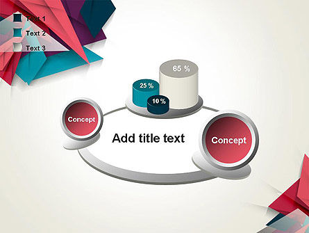 Abstract Origami PowerPoint Template Slide 16