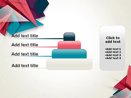 Abstract Origami PowerPoint Template Slide 8