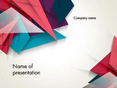 Abstract/Textures: Abstract Origami PowerPoint Template #12540