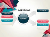 Abstract Origami PowerPoint Template#14
