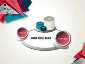 Abstract Origami PowerPoint Template#16