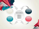 Abstract Origami PowerPoint Template#6