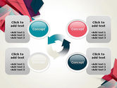 Abstract Origami PowerPoint Template#9