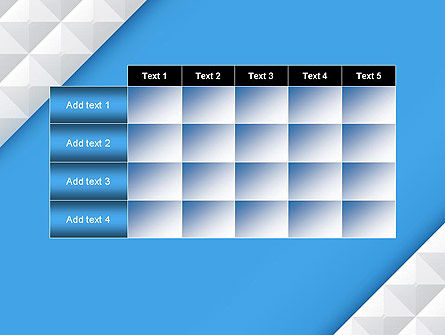 Abstract Mosaic Tiles PowerPoint Template Slide 15
