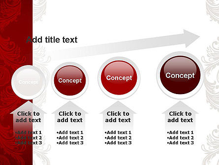 Classic Ornament PowerPoint Template Slide 13